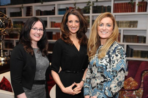 At Network Ireland LimerickÕs event in the Savoy Hotel was Network Limerick president Louise lawlor Blink Design with special guest speaker and Emmy-winning veteran CNN correspondent and anchor Gina London with Gillian Horan The Pudding