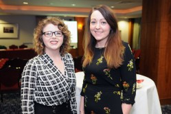 At Network Ireland LimerickÕs event in the Savoy Hotel was Jenny Gilleece, word.ie and Rachel Walsh LIT